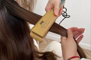 Как выбрать удобный стайлер для выпрямления волос ★★★ Полезные советы по выбору утюжка для волос, который не вредит волосам
